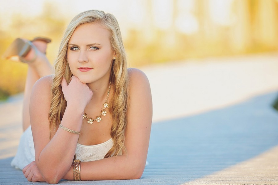 Senior Portraits on Clearwater Beach with Vernon Photography
